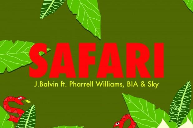Safari-jbalvin-pharrell-testo-e-traduzione